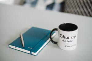 Schrijf je teksten in een inspiratieboekje
